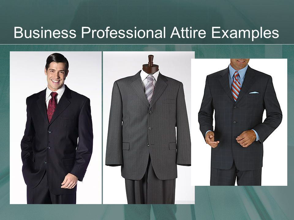Business Professional Attire Examples