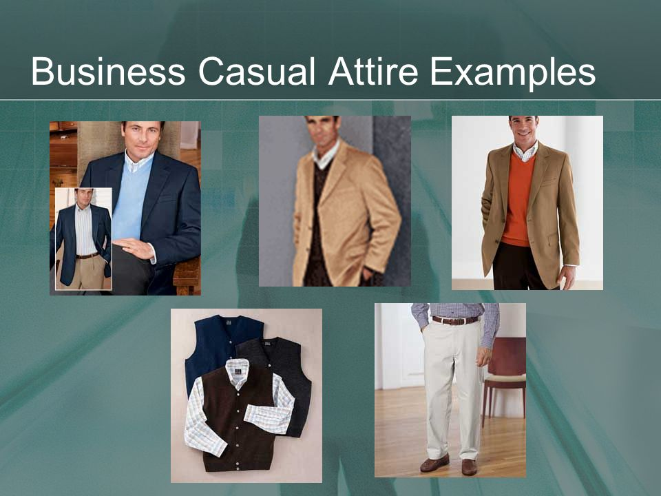 Business Casual Attire Examples