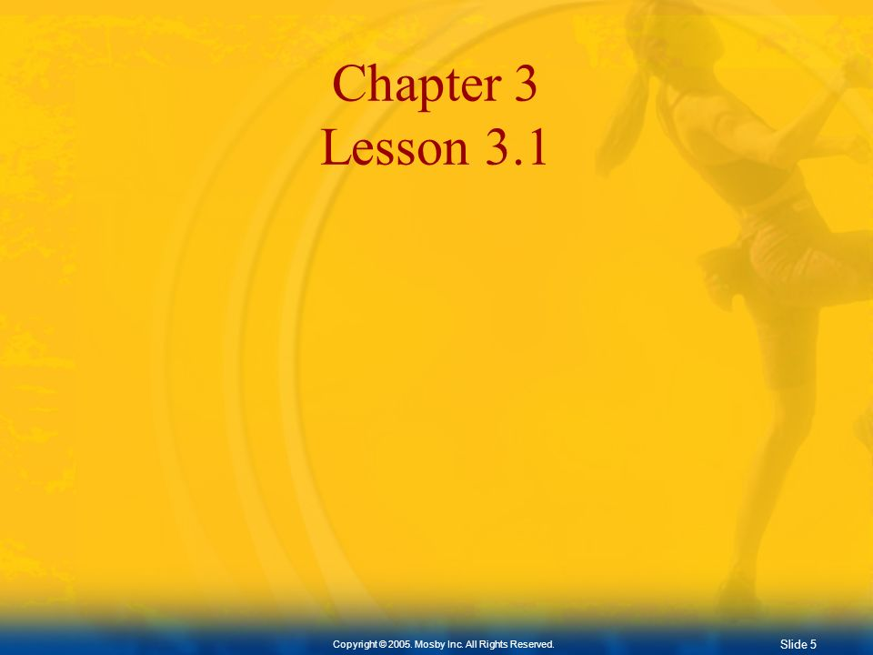 Chapter 3 Lesson 3.1