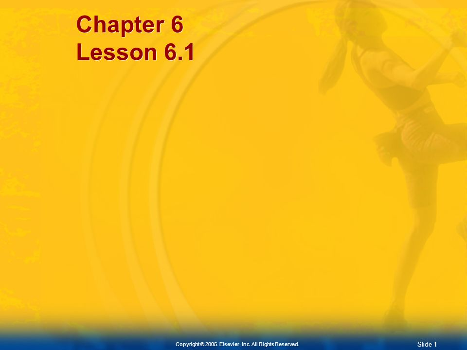Chapter 6 Lesson 6.1