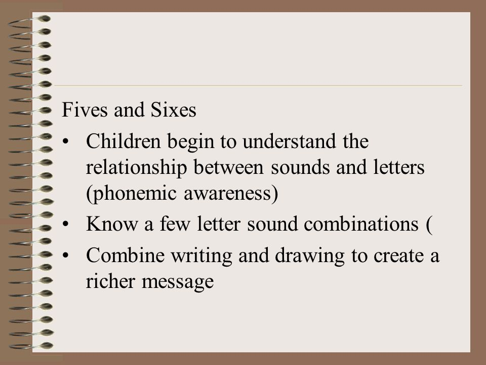 letter sound relationship test