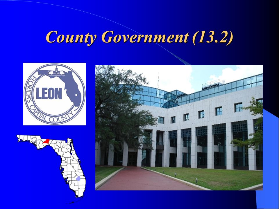 County Government (13.2)