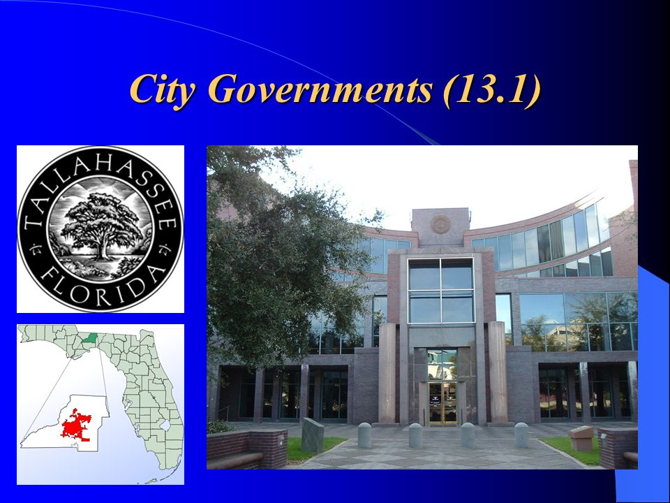 City Governments (13.1)