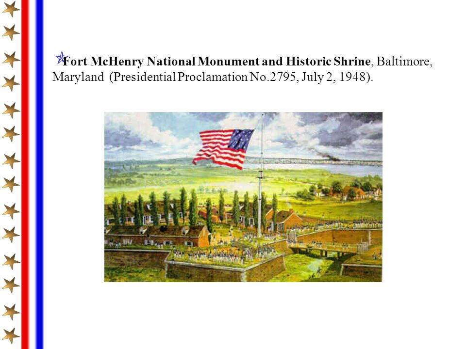 Fort McHenry National Monument and Historic Shrine, Baltimore,