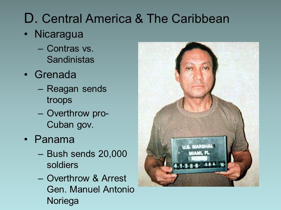 D. Central America & The Caribbean