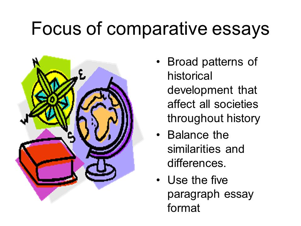 writing the comparative essay ppt video online  focus of comparative essays