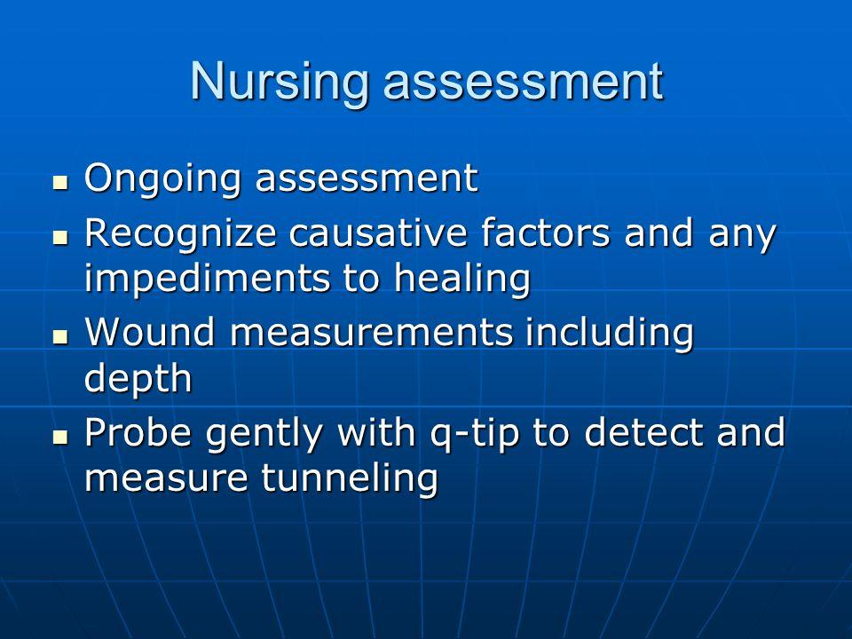 Nursing assessment Ongoing assessment