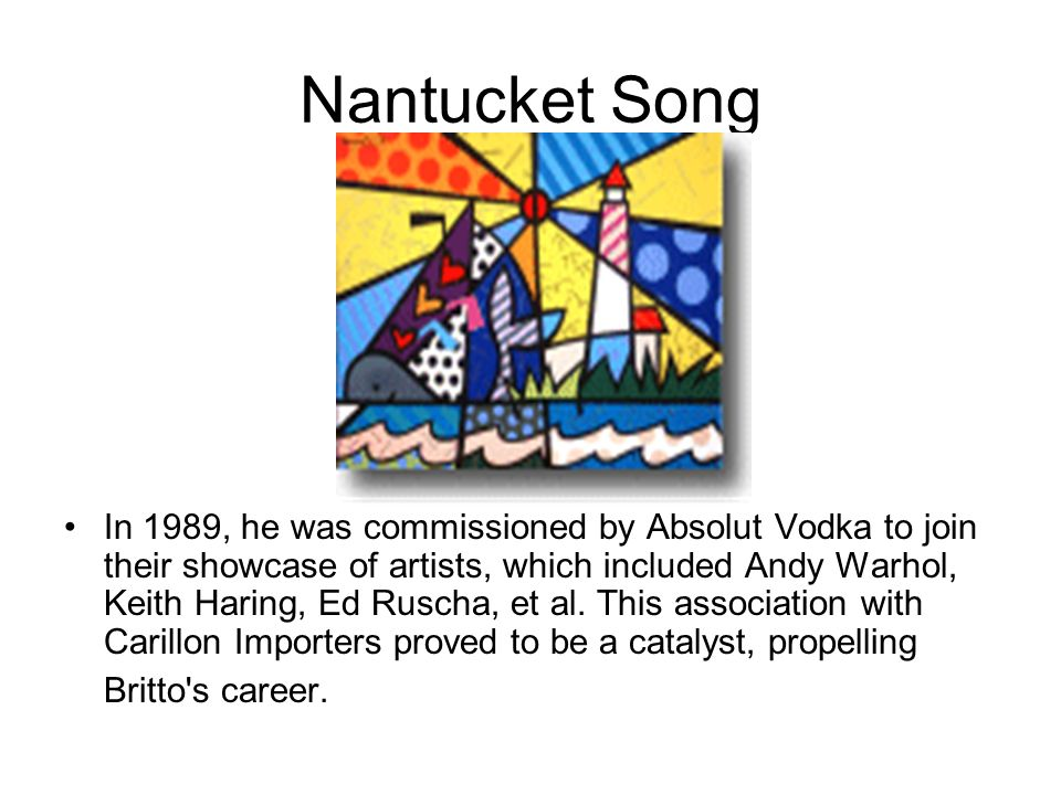 Nantucket Song