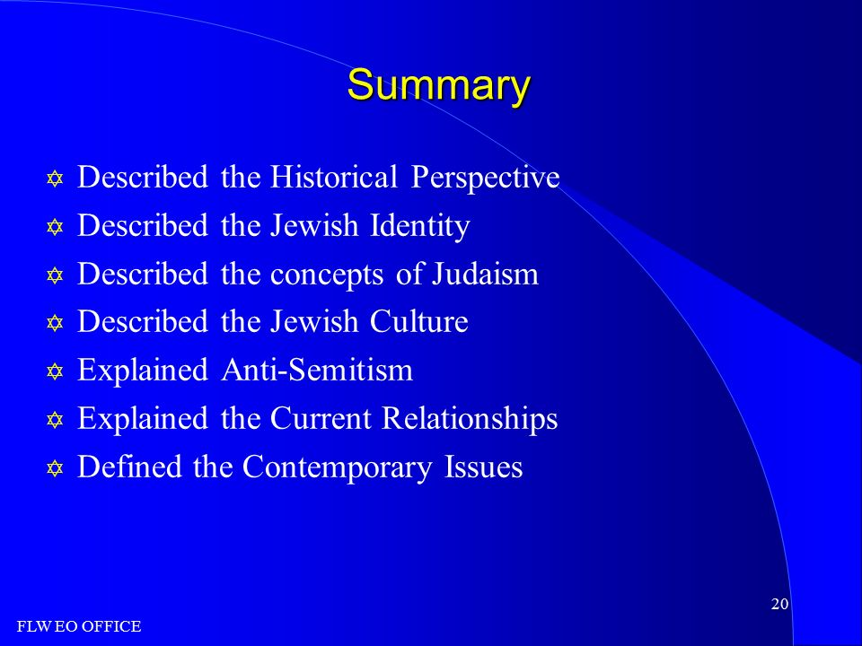 summary of judaism The history of judaism faculty, focused on the study of jewish texts in their various historical, cultural, philosophical, literary, and religious contexts, includes arnold davidson, michael fishbane, sarah hammerschlag, paul mendes-flohr, and james robinson.