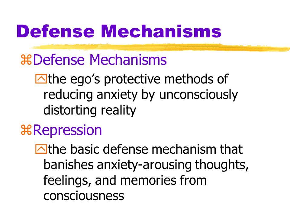 Defense Mechanisms Defense Mechanisms Repression