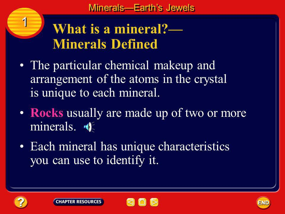 What is a mineral — Minerals Defined