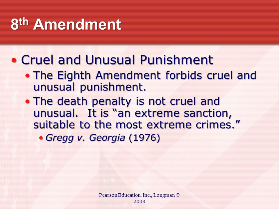 life sentence cruel and unusual punishment Outrageous sentences for marijuana  a life sentence with no  the definition of cruel and unusual he received a punishment typically.