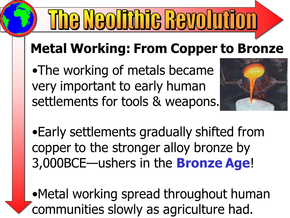 Metal Working: From Copper to Bronze
