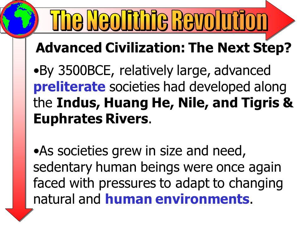 Advanced Civilization: The Next Step