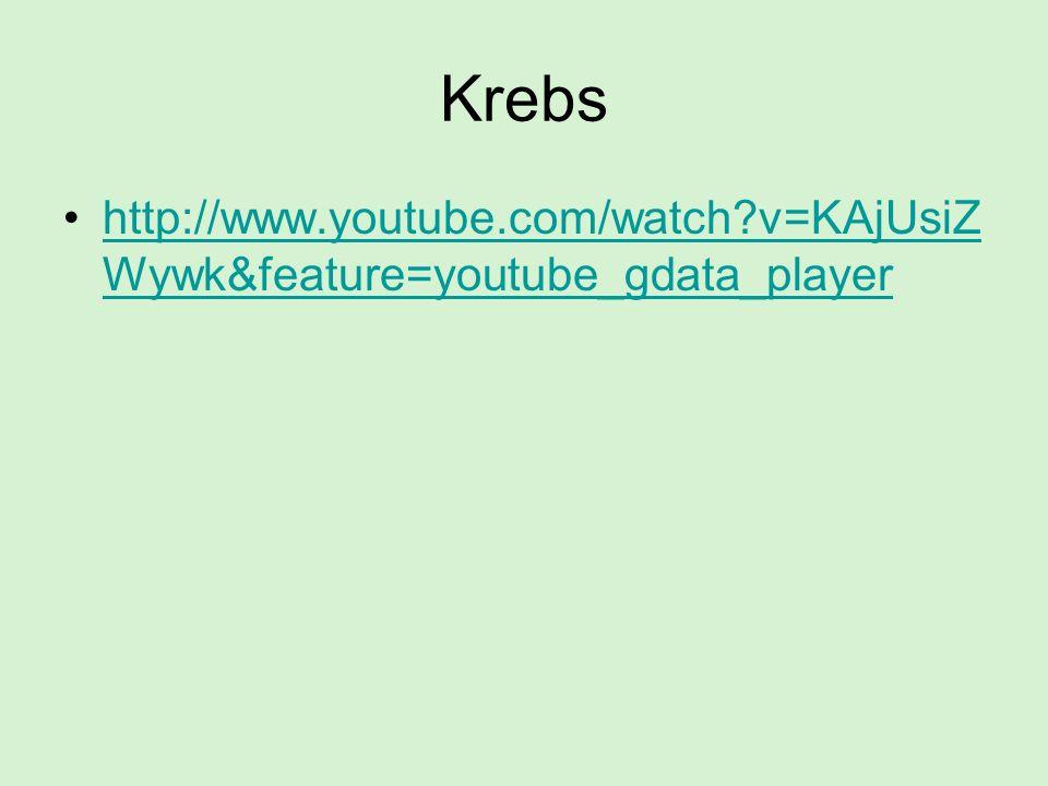 Krebs http://www.youtube.com/watch v=KAjUsiZWywk&feature=youtube_gdata_player