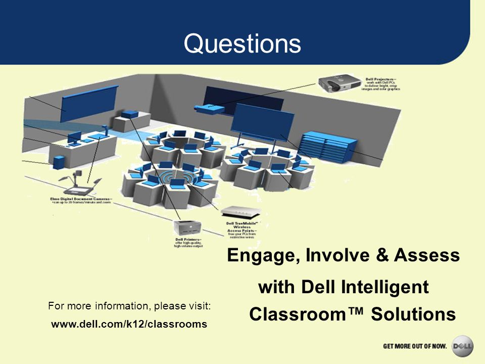 Engage, Involve & Assess with Dell Intelligent Classroom™ Solutions
