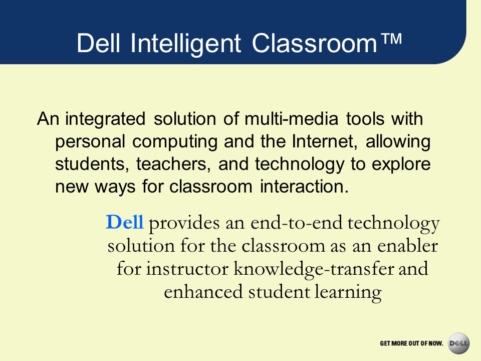 Dell Intelligent Classroom™