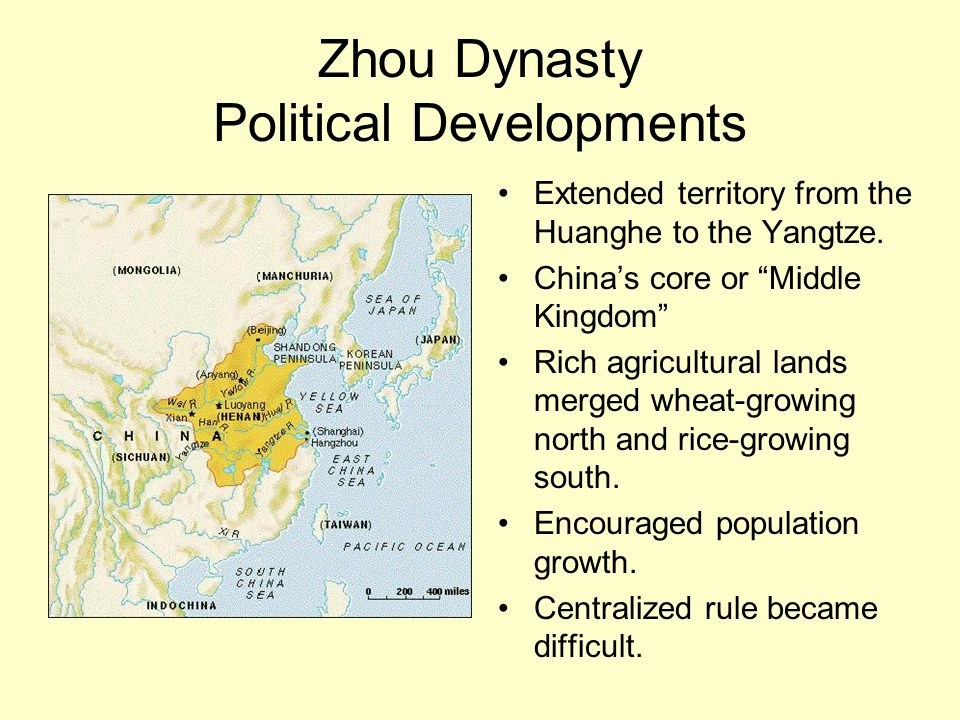 Zhou Dynasty Political Developments