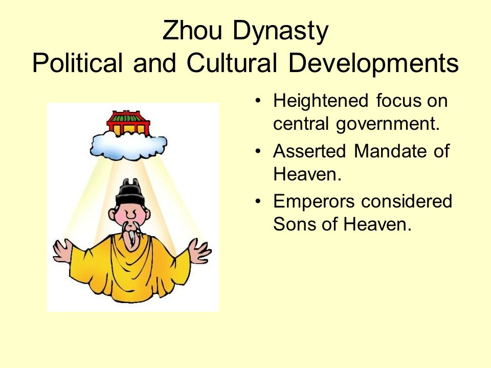 Zhou Dynasty Political and Cultural Developments