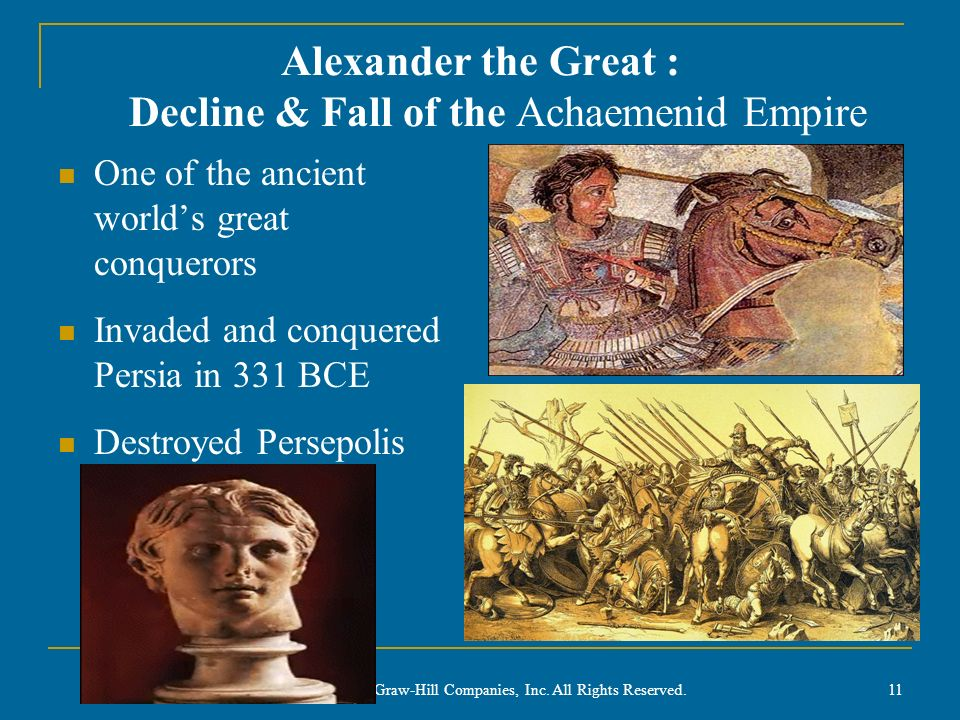 Alexander the Great : Decline & Fall of the Achaemenid Empire