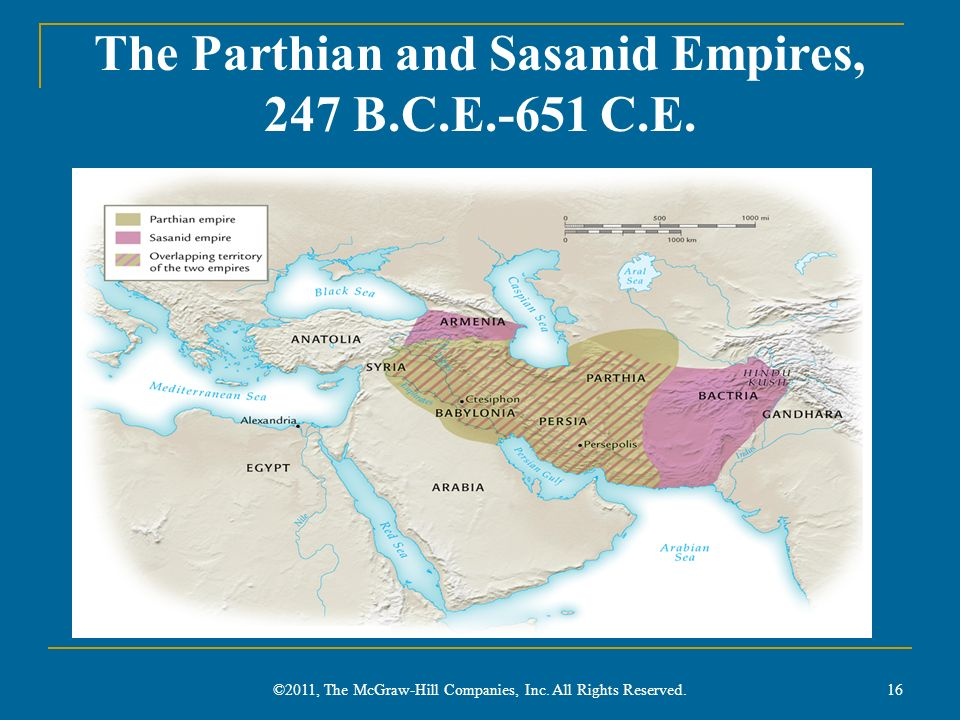 The Parthian and Sasanid Empires, 247 B.C.E.-651 C.E.