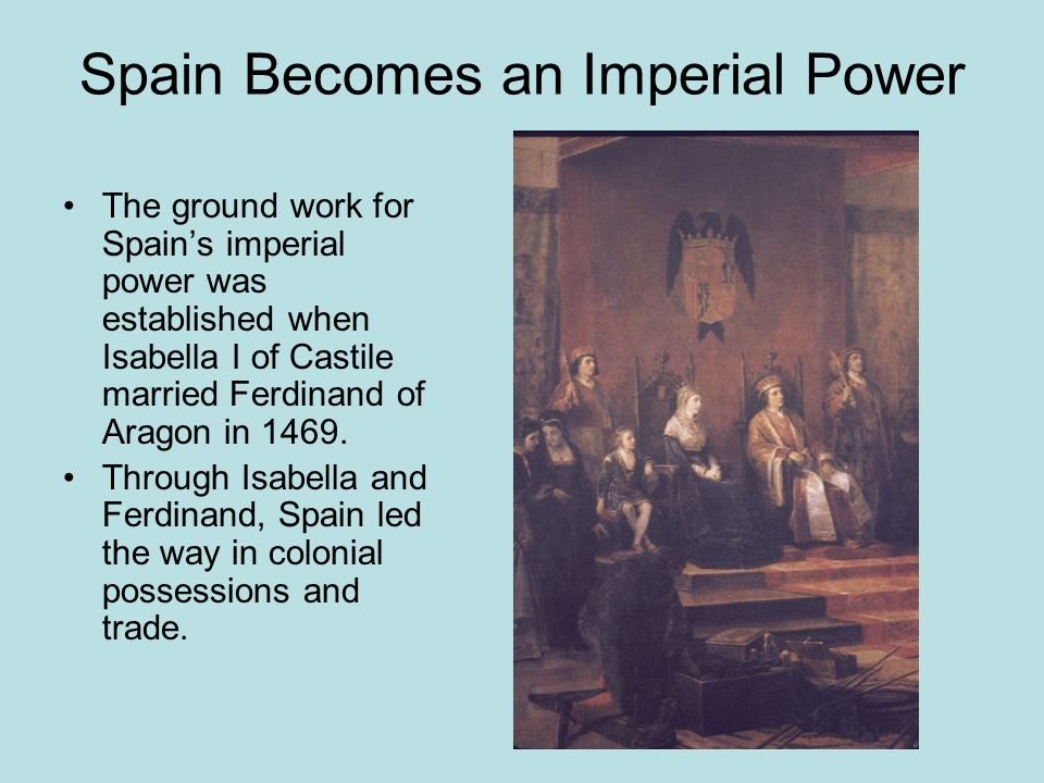 Spain Becomes an Imperial Power
