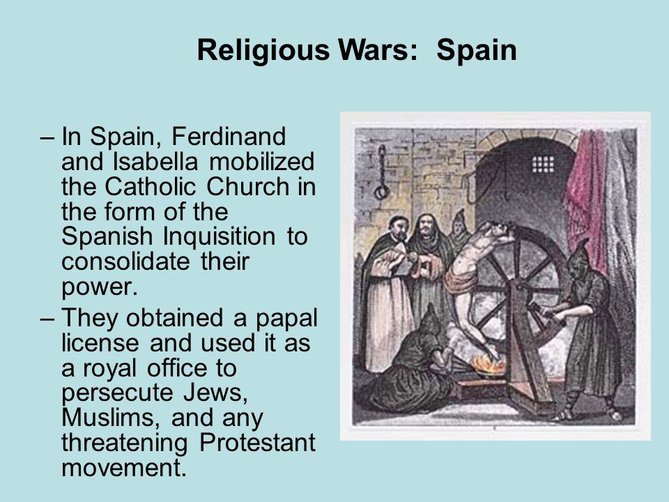 Religious Wars: Spain