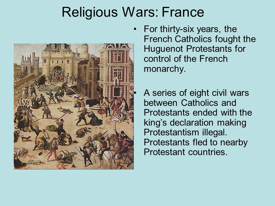 Religious Wars: France