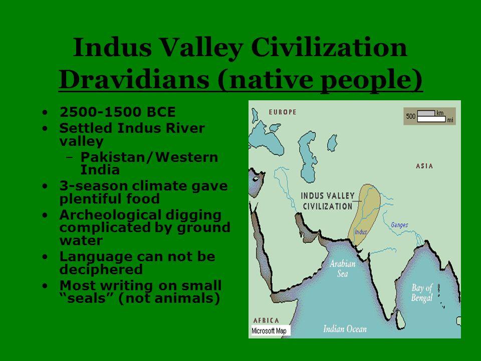 Indus Valley Civilization Dravidians (native people)