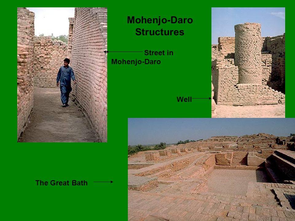 Mohenjo-Daro Structures