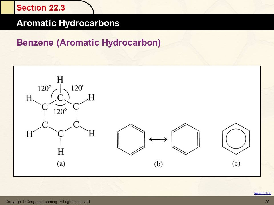 Benzene (Aromatic Hydrocarbon)