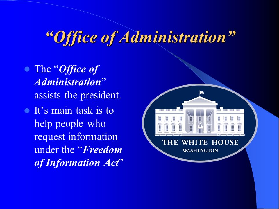 Office of Administration