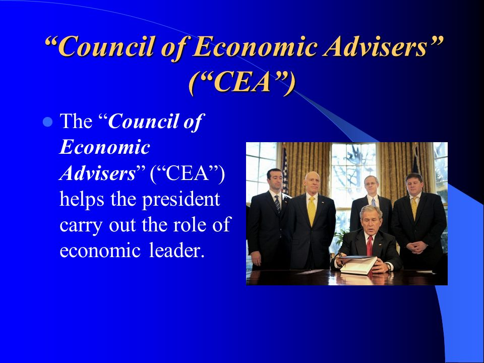 Council of Economic Advisers ( CEA )