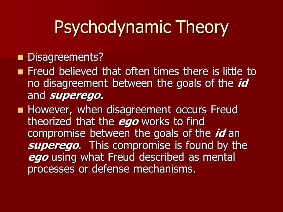 Psychodynamic Theory Disagreements