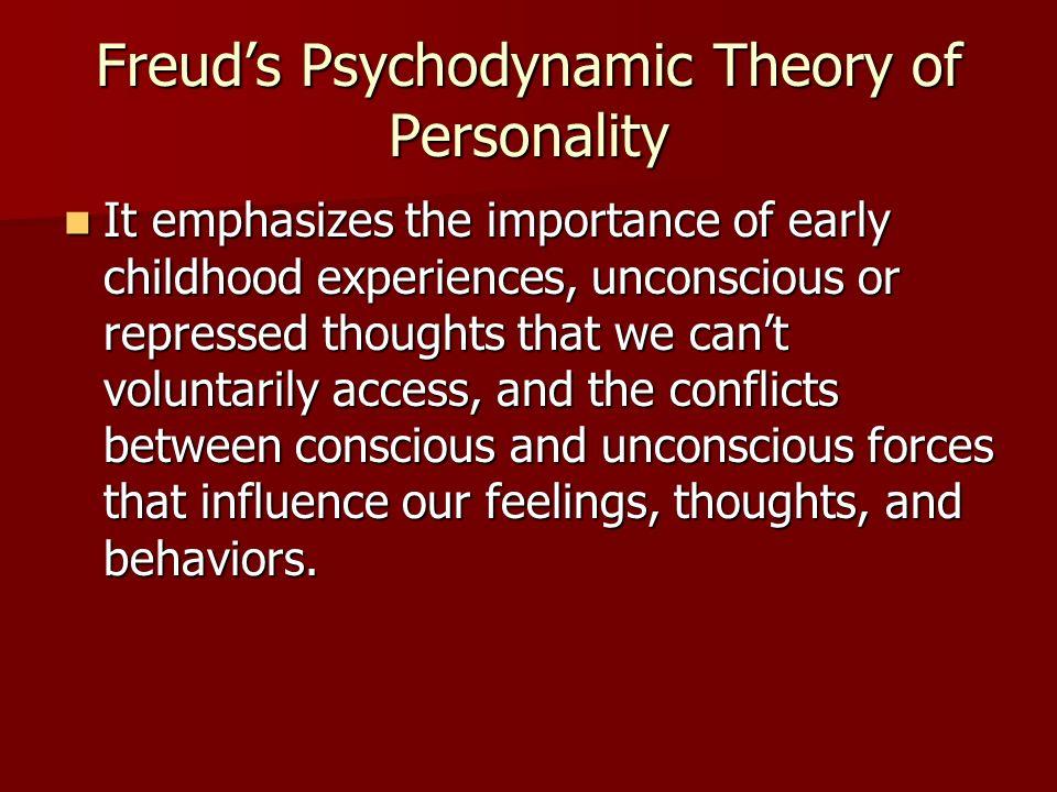 Freud's Psychodynamic Theory of Personality