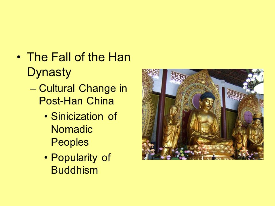 The Fall of the Han Dynasty