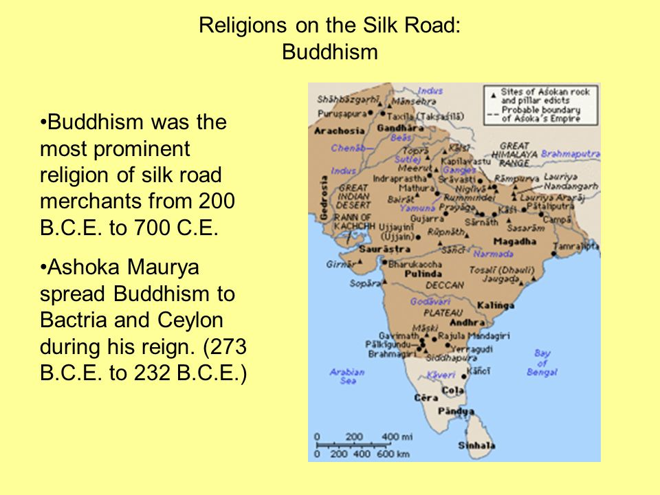 Religions on the Silk Road: Buddhism
