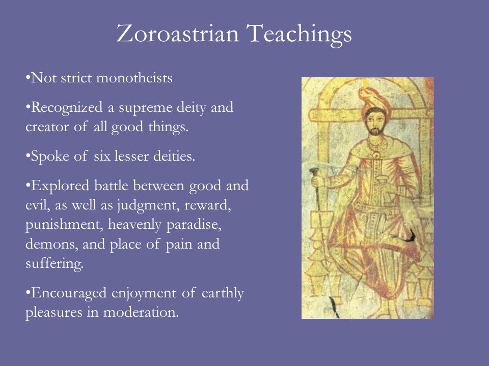 Zoroastrian Teachings