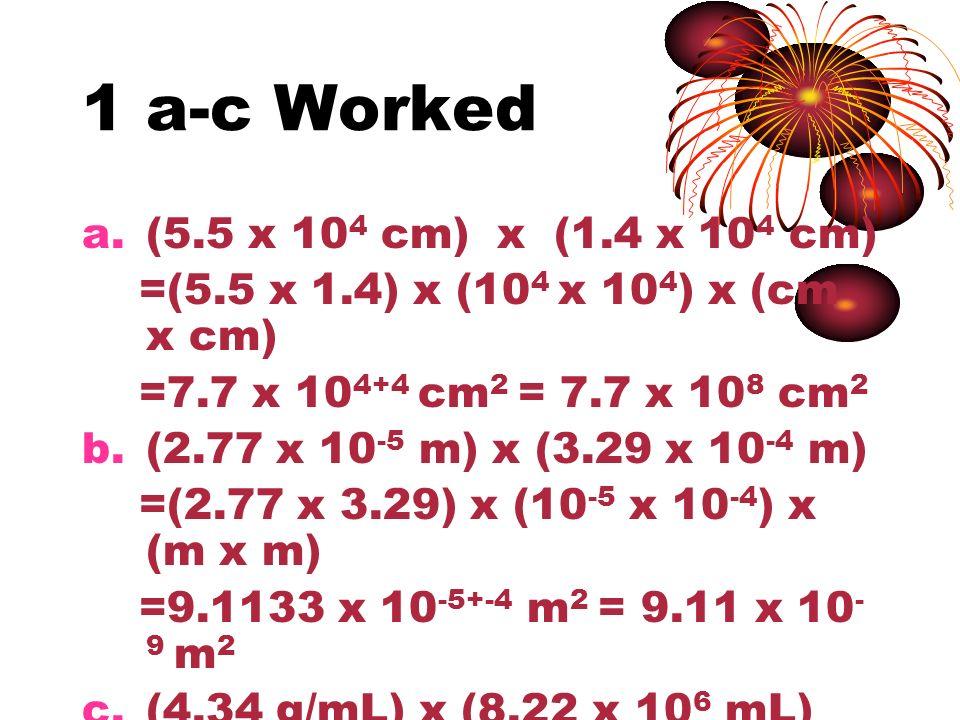 1 a-c Worked (5.5 x 104 cm) x (1.4 x 104 cm)