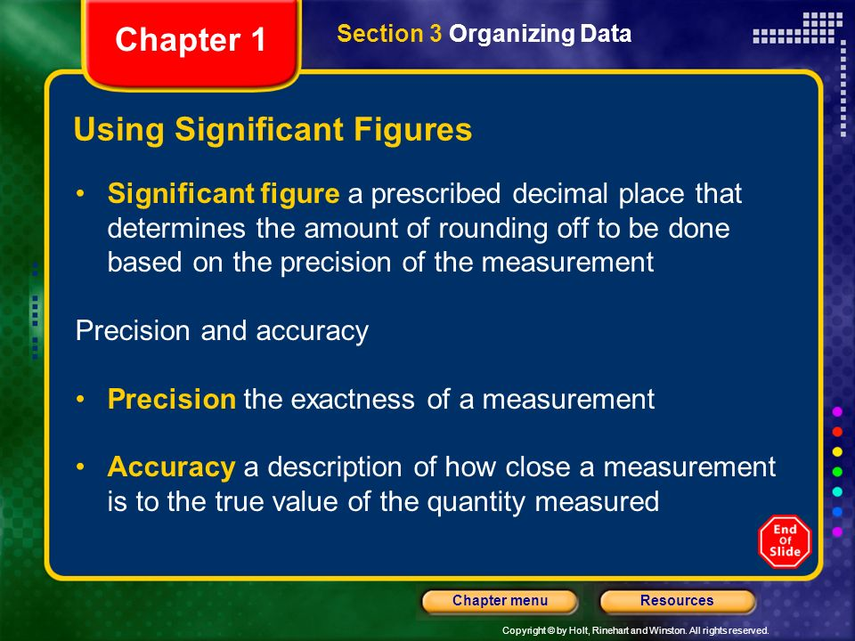 Using Significant Figures
