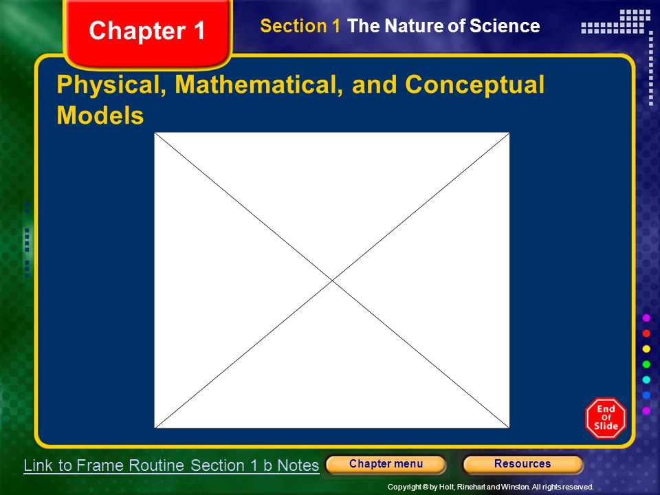 Physical, Mathematical, and Conceptual Models