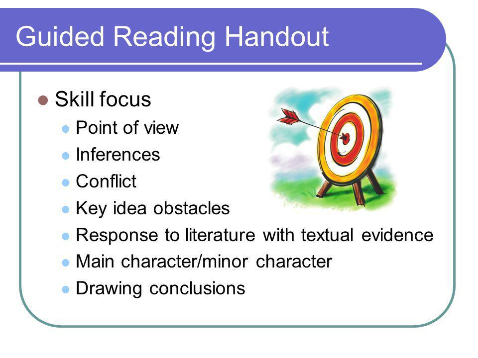 Guided Reading Handout