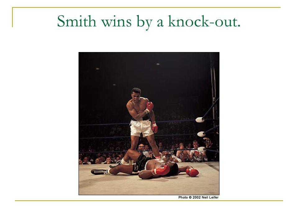 Smith wins by a knock-out.