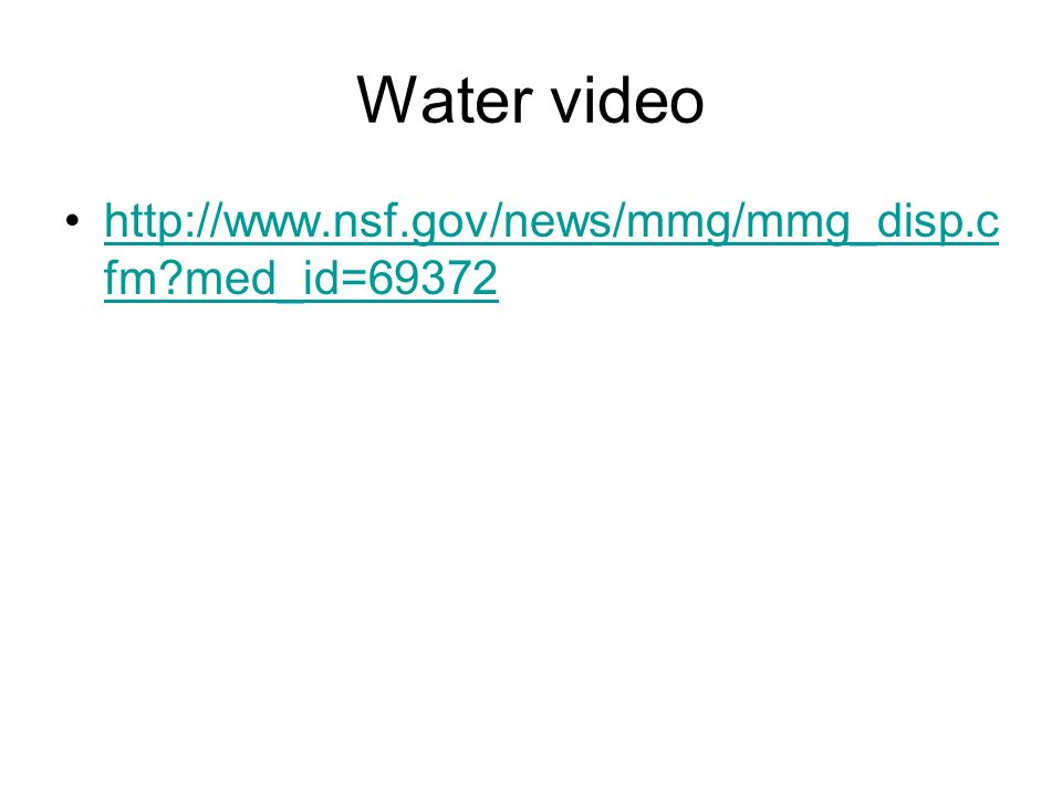 Water video   med_id=69372