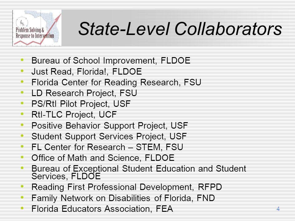 State-Level Collaborators