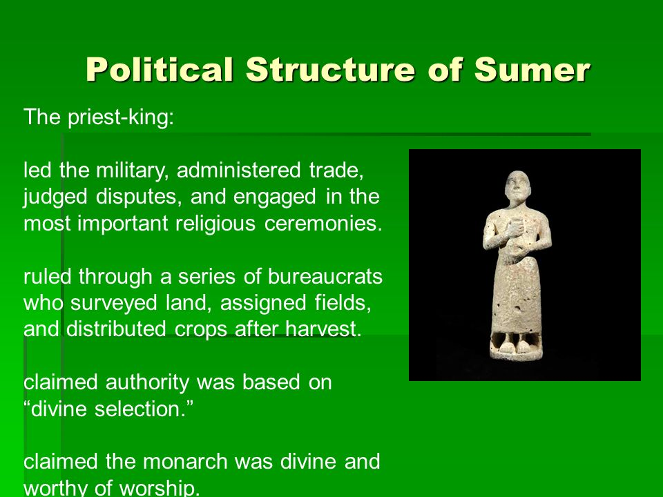 Political Structure of Sumer
