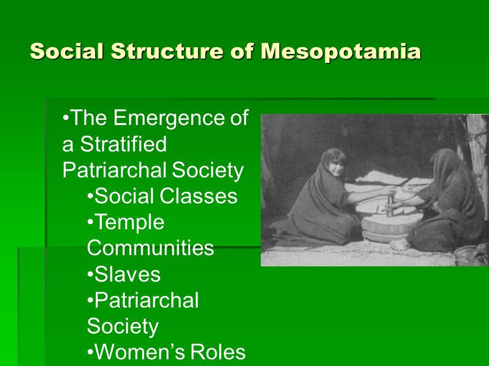 Social Structure of Mesopotamia