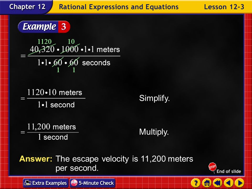 Answer: The escape velocity is 11,200 meters per second.