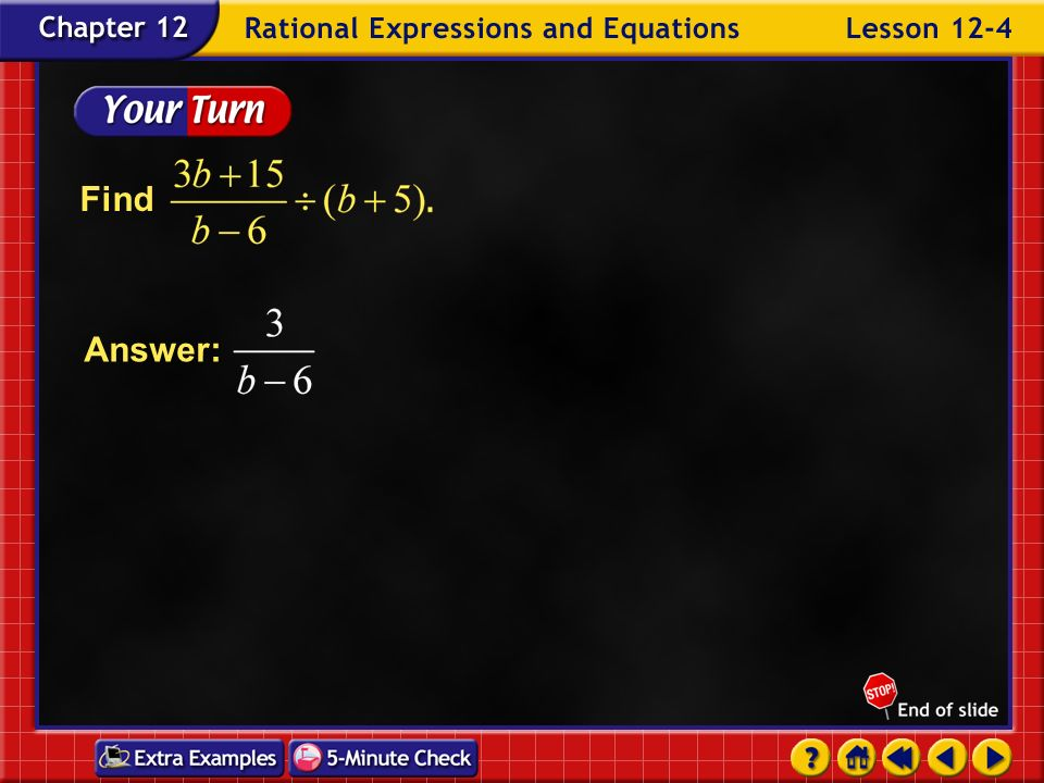 Find Answer: Example 4-3c