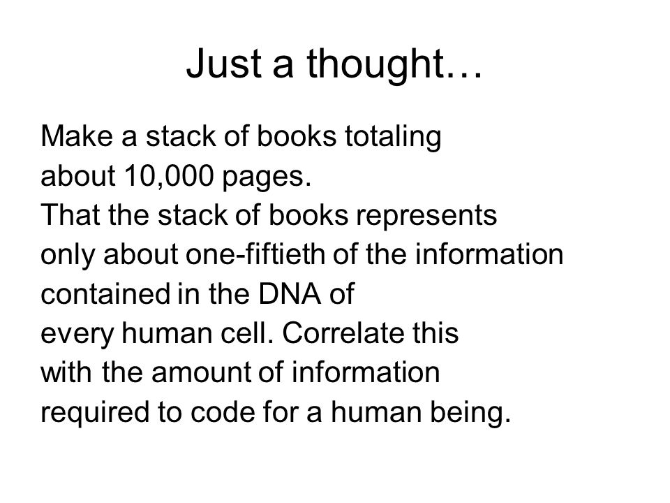 Just a thought… Make a stack of books totaling about 10,000 pages.